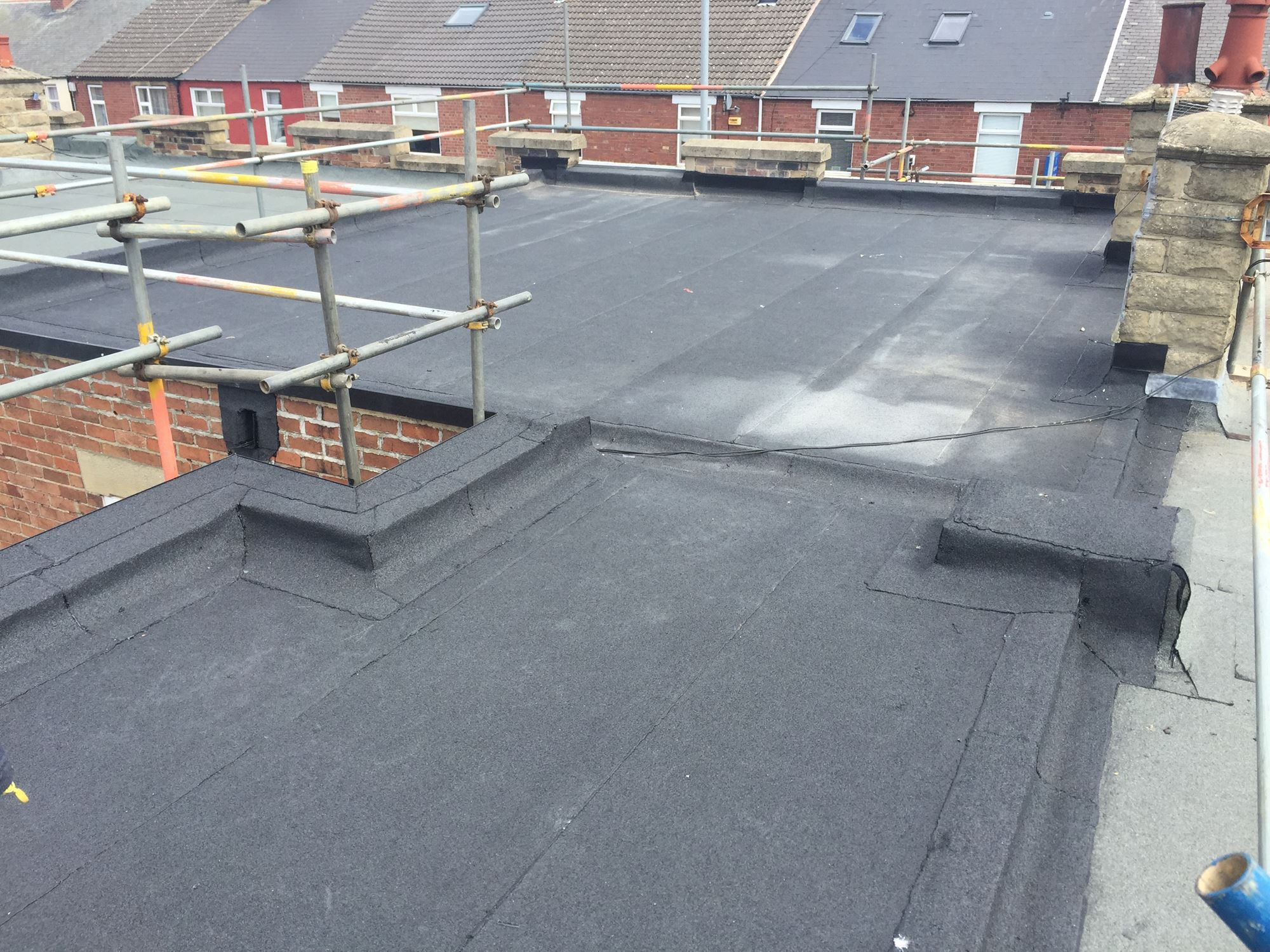 Iko Mach One Flat Roofing For Domestic Property Dvc Roofing
