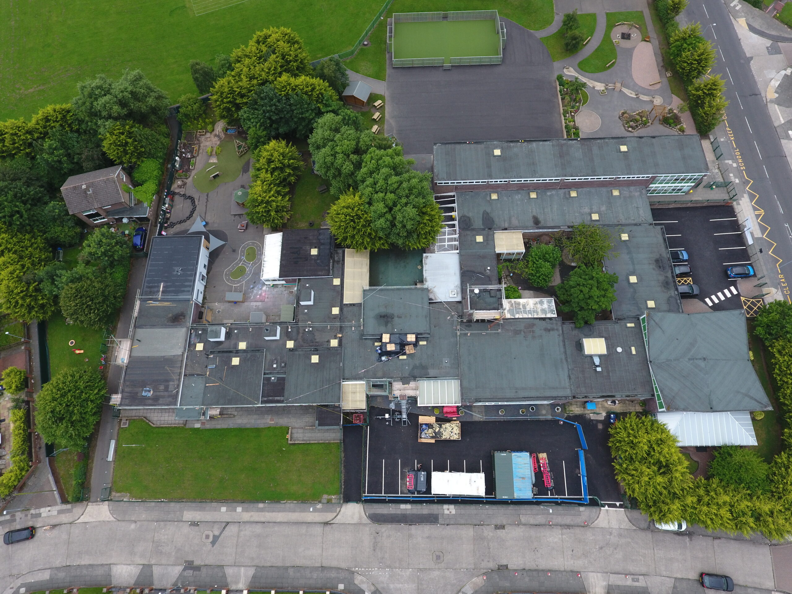 Flat roof repairs Manchester